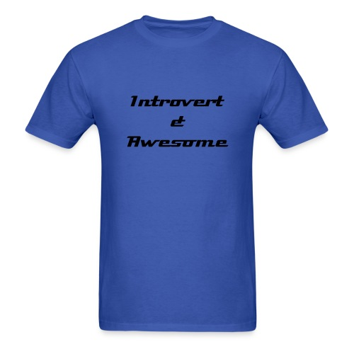 Introvert & Awesome - Men's T-Shirt