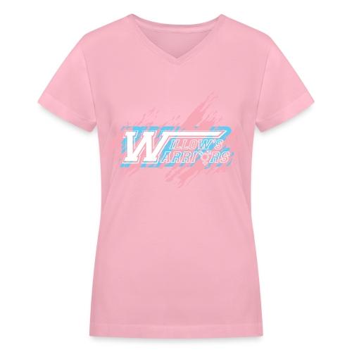 Willow's Warriors - Women's V-Neck - Women's V-Neck T-Shirt