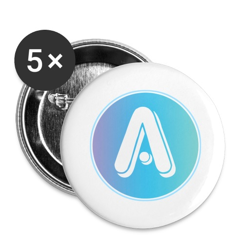 Amplify A Logo Small Buttons - Buttons small 1'' (5-pack)