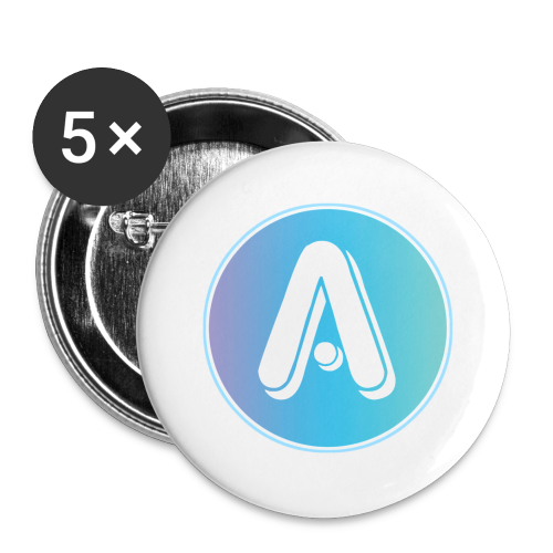 Amplify A Logo Large Buttons - Buttons large 2.2'' (5-pack)
