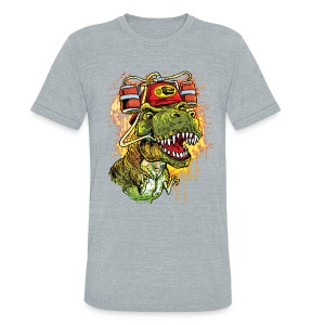 AleOsaurus Beer Rex - Unisex Tri-Blend T-Shirt by American Apparel