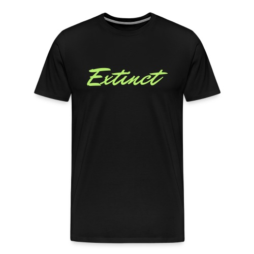 Extinct vL Green T-Shirt - Men's Premium T-Shirt
