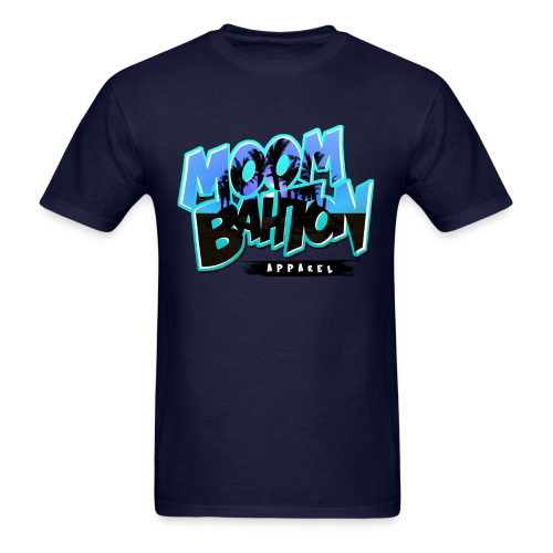 Mens Moombahton Apparel (Blue) - Men's T-Shirt