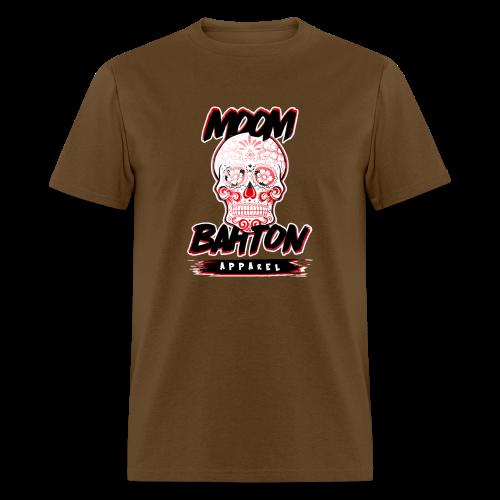 Mens Sugar Skull (Red) - Men's T-Shirt