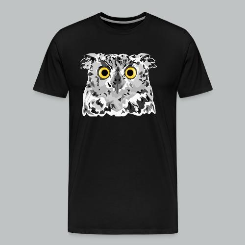 Owl - Men's - Men's Premium T-Shirt