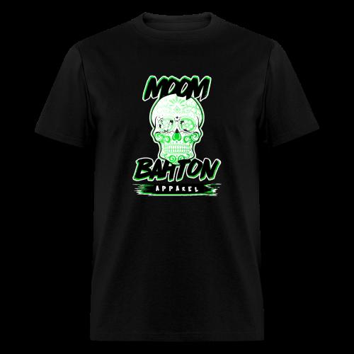 Mens Sugar Skull (Green) - Men's T-Shirt
