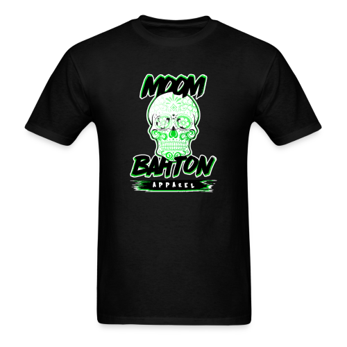Mens Sugar Skull (Green) - Men's T-Shirt