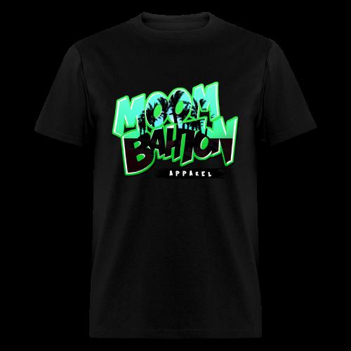 Mens Moombahton Apparel (Green) - Men's T-Shirt
