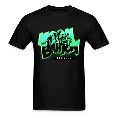 Mens Moombahton Apparel (Green) - Men's T-Shirt