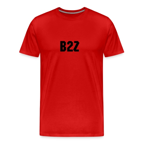 RED B2Z SHIRT - Men's Premium T-Shirt