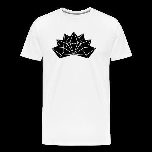 Mens Premium Crystal Skies Shirt - Men's Premium T-Shirt