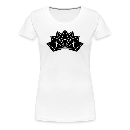 Womens Premium Crystal Skies Shirt - Women's Premium T-Shirt