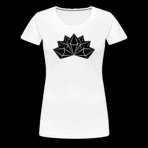 Womens Premium Crystal Skies Shirt - Women's Premium T-Shirt
