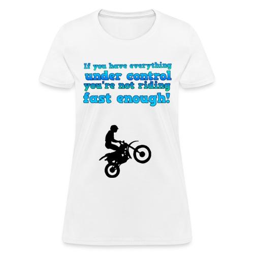 Riding Women's T-Shirt - Women's T-Shirt