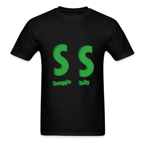 SS Mens Black Tee - Men's T-Shirt