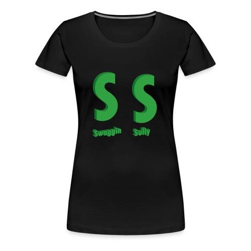 SS Womens Black Tee - Women's Premium T-Shirt