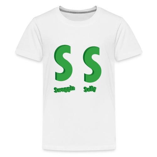 SS Kids Cotton White Tee - Kids' Premium T-Shirt