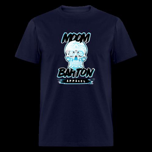 Mens Sugar Skull (Blue) - Men's T-Shirt