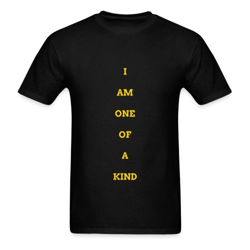 MEN I AM OOAK SHIRT BLK/GOLD - Men's T-Shirt