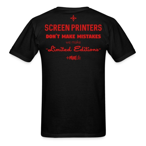 #PrintLife Screen Printer's Limited Edition - Men's T-Shirt