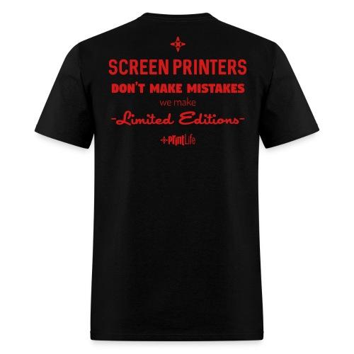 #PrintLife Screen Printer's Limited Edition - Men's T-Shirt