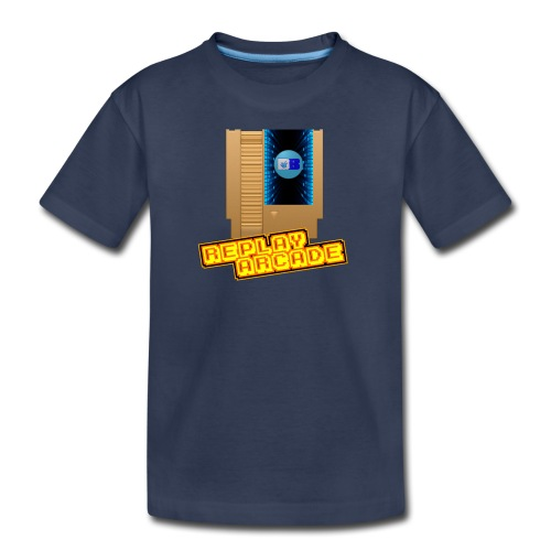 Premium Kids T-Shirt NES Replay Arcade - Kids' Premium T-Shirt