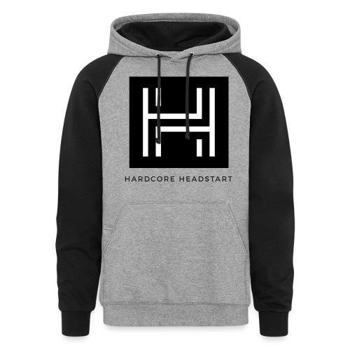 Hardcore Headstart 2 Shade Hoodie - Colorblock Hoodie