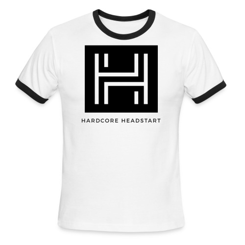 Hardcore Headstart Ringer Tee - Men's Ringer T-Shirt