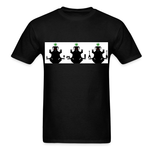 The Holy Trinity Of The Stoner Realm - Men's T-Shirt
