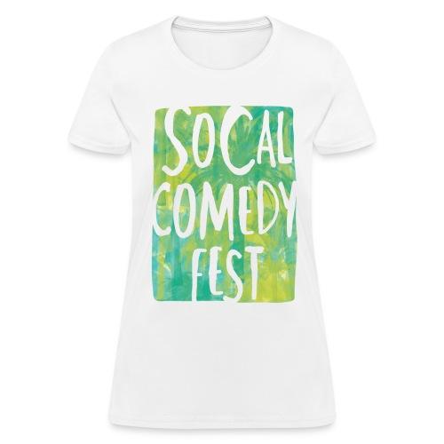 Official SoCal Comedy Fest T-Shirt - WOMENS - Women's T-Shirt