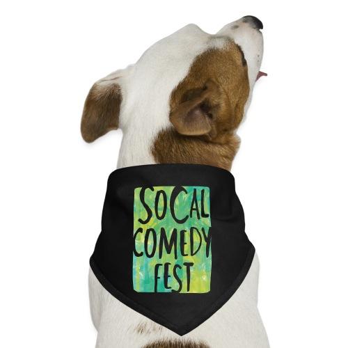 Official SoCal Comedy Fest DOG BANDANA - Dog Bandana