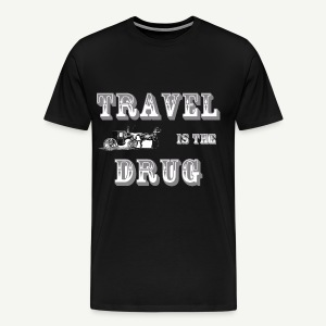 Travel is the Drug Tee Men's - Men's Premium T-Shirt