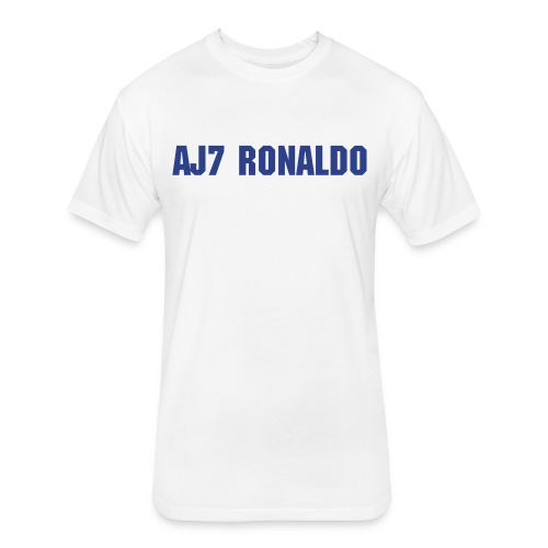 AJ7 Ronaldo - Fitted Cotton/Poly T-Shirt by Next Level