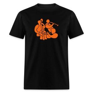 Jazz Band Trio - Men's T-Shirt