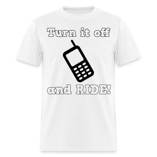 Turn it off Men's T-Shirt - Men's T-Shirt