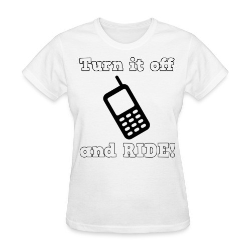 Turn it off Women's T-Shirt - Women's T-Shirt
