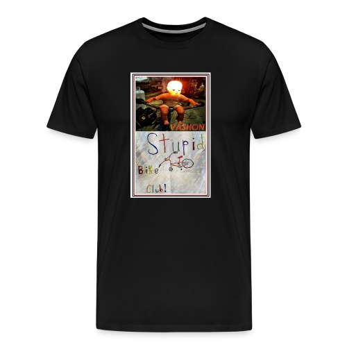 Vashon Stupid Bike Club - Men's Premium T-Shirt