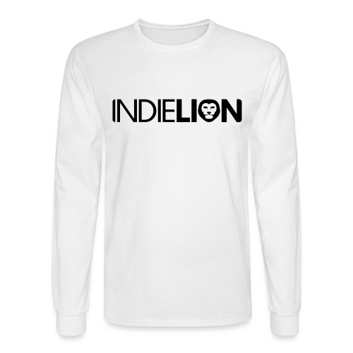 Men's Long Sleeve Tee (White) - Men's Long Sleeve T-Shirt