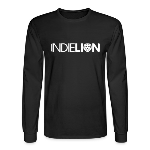 Men's Long Sleeve Tee (Black) - Men's Long Sleeve T-Shirt