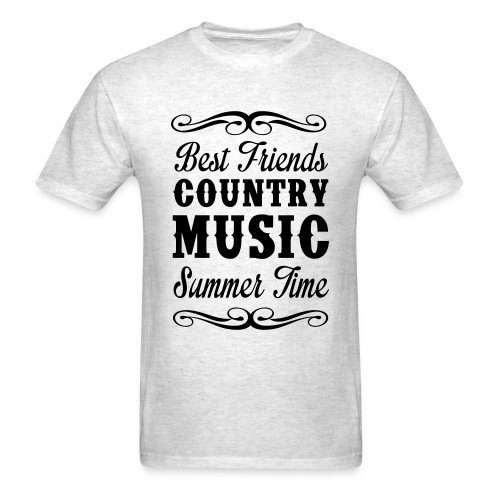 Best Friends And Country Music - Men's T-Shirt
