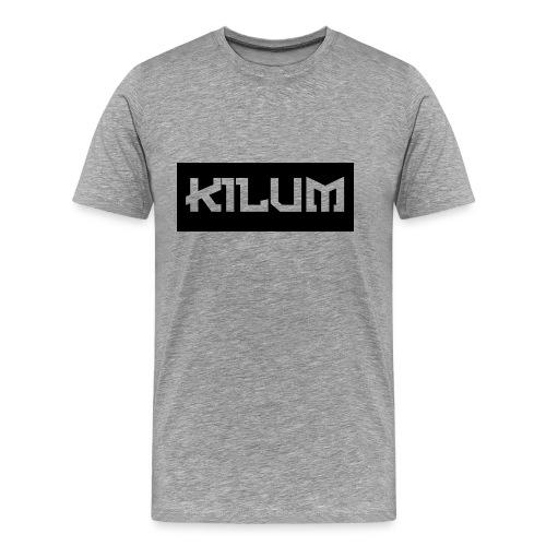 Logo Kilum (Hombre) - Men's Premium T-Shirt