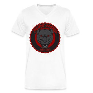 pure hard - Men's V-Neck T-Shirt by Canvas
