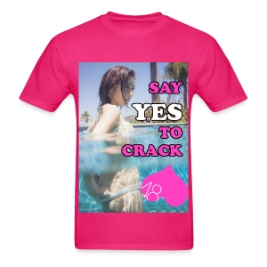 Mayuyu Say YES to Crack!! - Men's T-Shirt