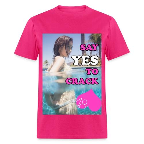 Mayuyu Say YES to Crack!! - Men's T-Shirt