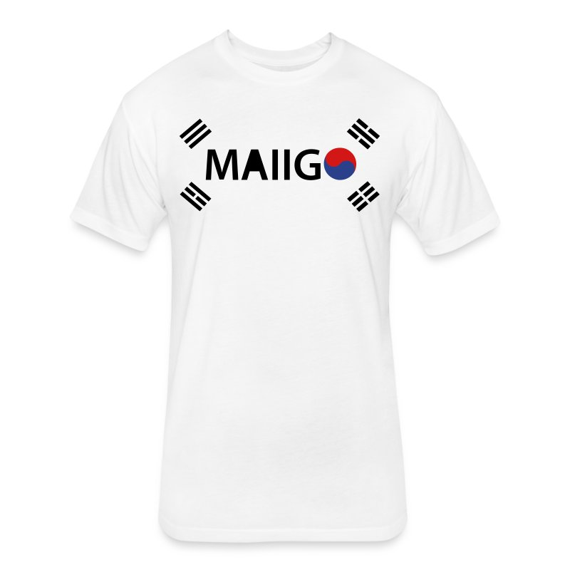 mai-ko - Fitted Cotton/Poly T-Shirt by Next Level