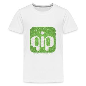 qip adult (green) - Kids' Premium T-Shirt