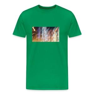 nightlight (green) - Men's Premium T-Shirt