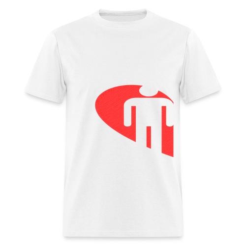 Love Male (White) - Men's T-Shirt