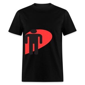 Love Male (Black) - Men's T-Shirt