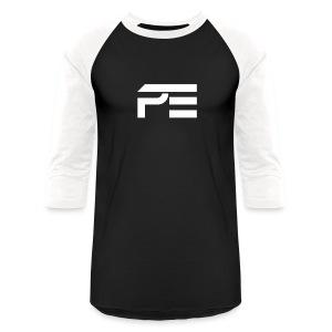 Praise eSports Mens Baseball Tee White Logo  - Baseball T-Shirt